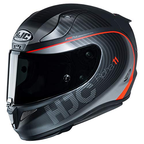 HJC Helmets RPHA 11 Pro Helmet - Bine (Medium) (Black/RED)