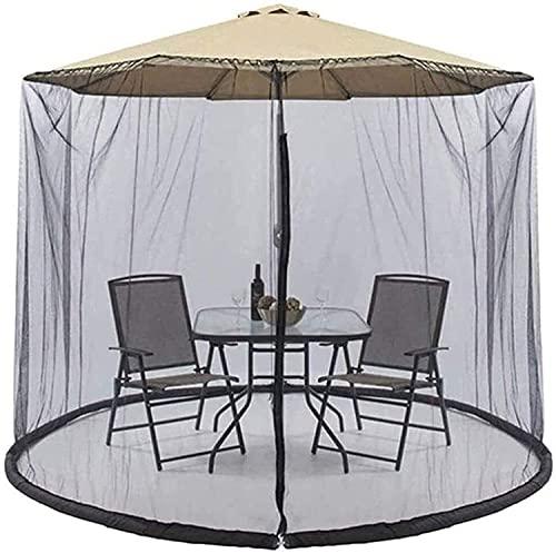 KDOAE Zanzara Ombrellone da Giardino Giardino Parasole Net Ombrello per Esterni Net Cover Courtyard Ombrello Terrazza Rete per Gazebo per Il Campeggio all'aperto in Giardino