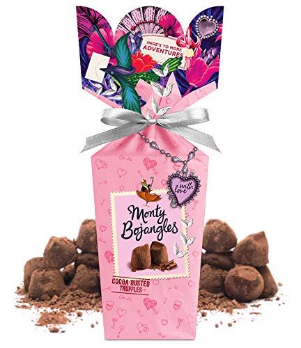 Monty Bojangles Kakao bestäubt Schokolade Praline mit Liebe Bouquet 110g