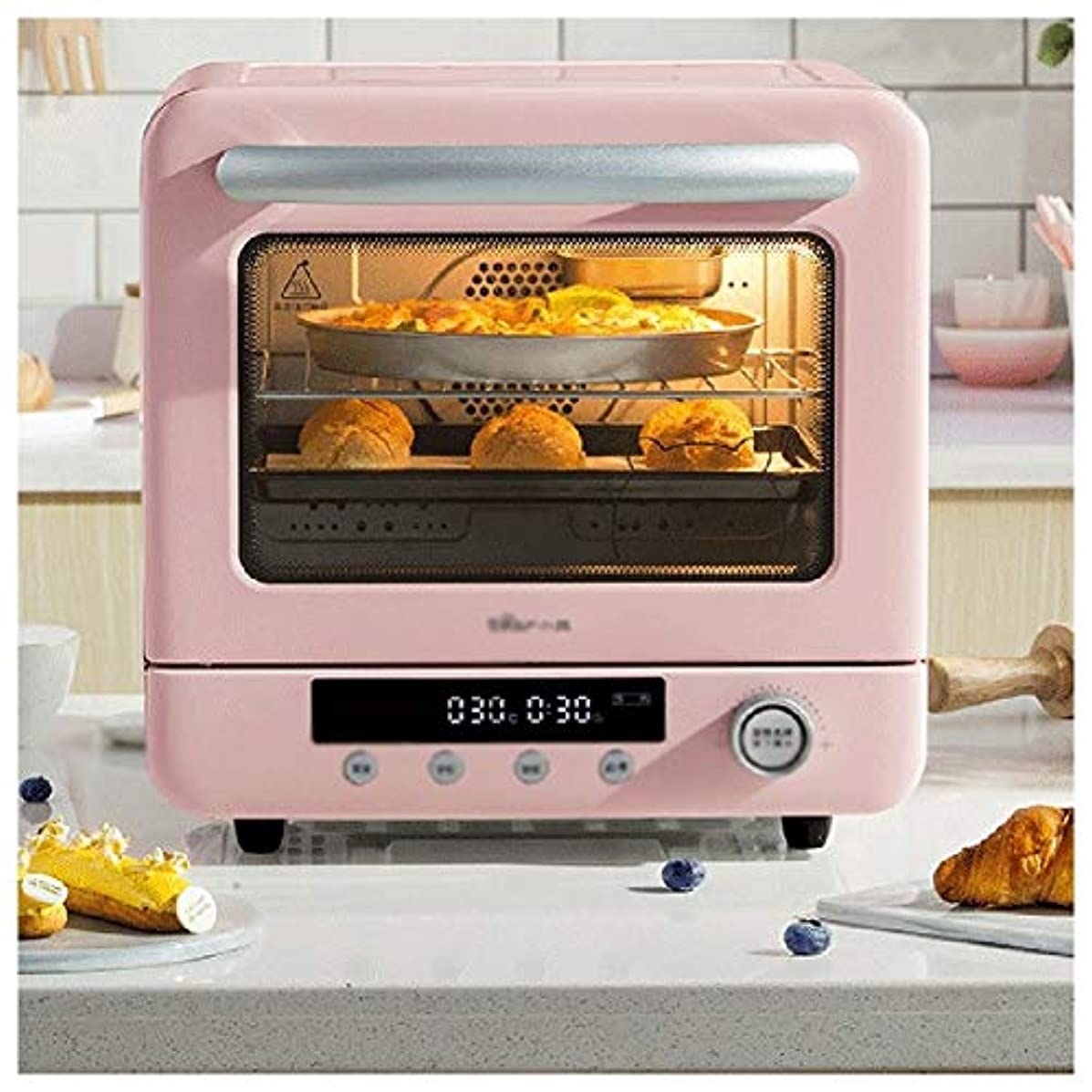 Noble.Store Oven With Convection Toast Bake Broil Function Stainless Steel -51 oven