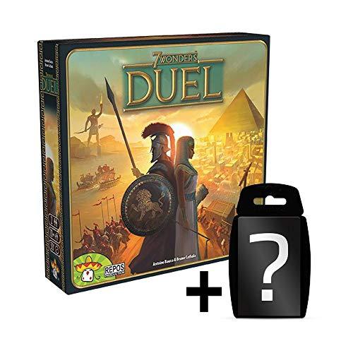 7-Wonders - Duel - Kartenspiel | DEUTSCH | 2 Personen Spiel | Set inkl. Kartenspiel