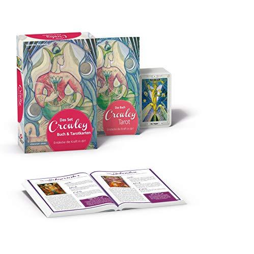 Das Set Crowley-Tarot: Set mit Buch und Karten