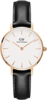 daniel wellington black sheffield rose gold