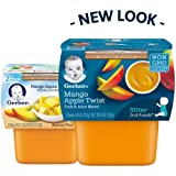 Gerber 2nd Foods Mango Apple Twist 4 oz Tubs, 2 ct - 7 oz | CVS
