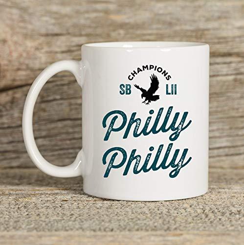Alicert5II Philly Philly Philadelphia Eagles beker Eagles geschenk koffiemok geschenken voor hem