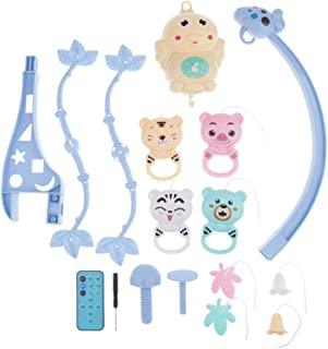 Toygogo 18 Baby Kids Wind-up Crib Bed Bell Toy Holder Arm Bracket Nursery Mobiles