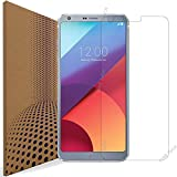 VLP LG G6 Cristal Templado Protector de Pantalla, 2.5D Edge Fingerprint Resistant Protector de Pantalla Cristal Vidrio Templado para LG G6