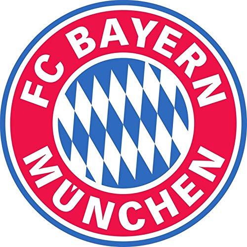FC Bayern Munich - Football Club Crest Logo Wall Poster Print - 43cm x 61cm / 17 Inches x 24 Inches A2 Bundesliga Bayern München