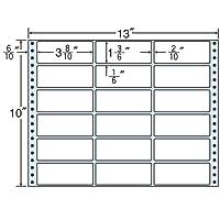 東洋印刷 タックフォームラベル 13インチ ×10インチ 18面付(1ケース500折) MT13W