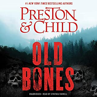 Old Bones audiobook cover art