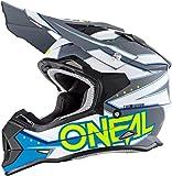 Casco Mx Oneal 2017 2Series Rl Slingshot Blu (S , Blu)