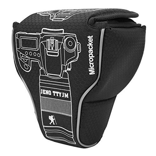 Camera Bag, Nylon Camera Case Bag Waterproof Dust-Proof Wear Resistant Camera Bag with Sponge Inner Layer, for Mirrorless Camera/SLR