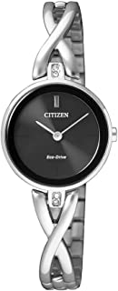 Citizen Women's Solar Powered Wrist watch, stainless steel Bracelet analog Display and Stainless Steel Strap, EX1420-84E