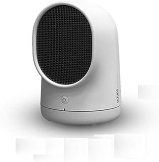 SYNANA Mini Calefactor, Calefactor De Escritorio Rápida Pequeña Potencia Dormitorio Mini Calefactor Energía Silenciosa Ahorro De Energía Sol Pequeño (con La Función De Sacudir La Cabeza)