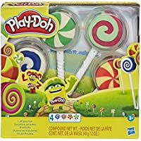 4-Pack Play-Doh Pretend Play Candy Molds Filled