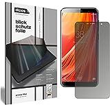 dipos I Blickschutzfolie matt kompatibel mit HOMTOM S7 Sichtschutz-Folie Bildschirm-Schutzfolie Privacy-Filter