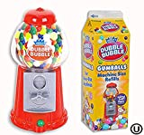 Classic Dubble Bubble Gumball Coin Bank Machine, with a Pack of Dubble Bubble Gumballs, Great Party Favor