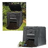 Escher 14775701 ESC14775701 Compostiera Eco, Componibile, 470 Litri,...