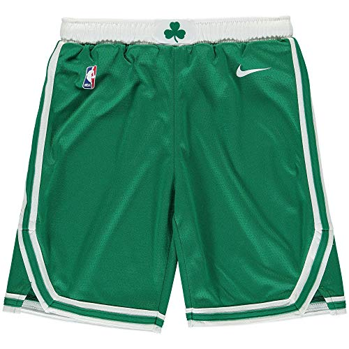 Outerstuff Youth 8-20 Boston Celtics Green Swingman Statement Performance Short Youth Sizing (8)