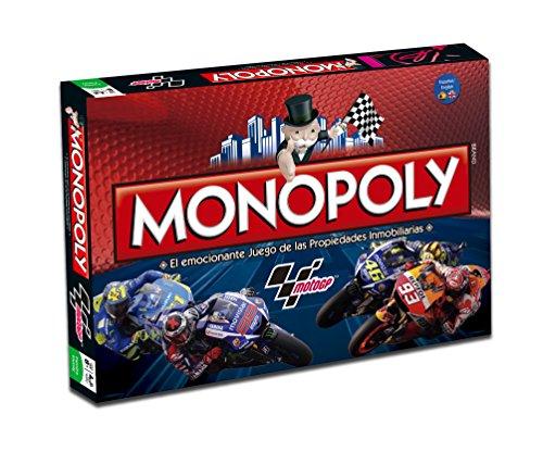 MotoGP - Juego Monopoly, Color Rojo (Eleven Force 82929)