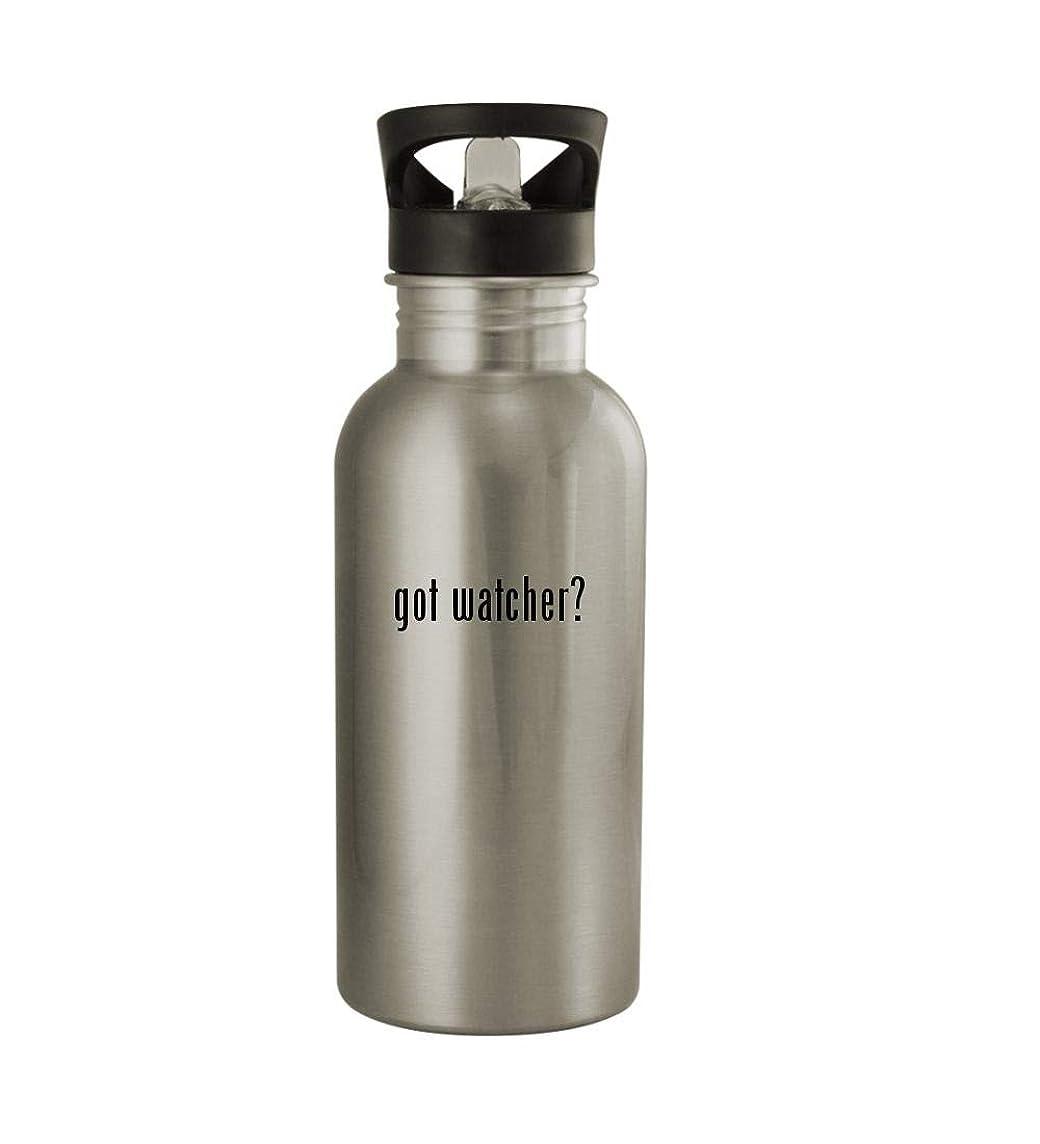 Knick Knack Gifts got Watcher? - 20oz Sturdy Stainless Steel Water Bottle