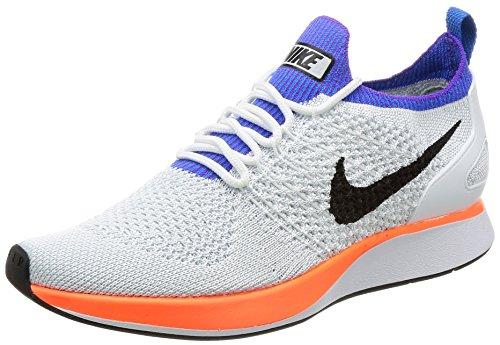 Nike Nike Damen Air Zoom Mariah Flyknit Racer Gymnastikschuhe, Weiß (.whitehyper Crimsonpure Platinum), 36.5 EU