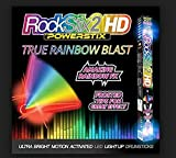 ROCKSTIX LIGHT UP DRUMSTICKS : RAINBOW BLAST! Amazing True Rainbow Effect, Set your Gig on Fire