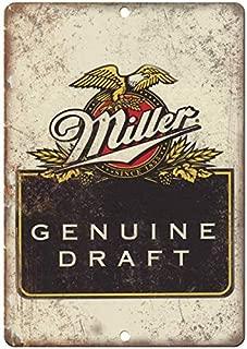 VEHFA Genuine Miller Draft Vintage Beer Ad 8