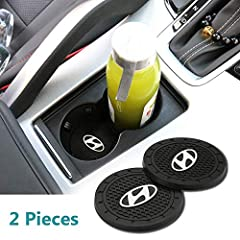 Made of High Quality Silicone Material Colorful auto logo design ,can used for drink coaster and anywhere also Matches all auto interior accessories, upgrade the grade and beauty of your auto Our coasters are made to look sleek and professional in ev...