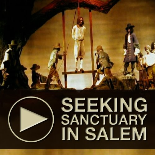 Seeking Sanctuary in Salem audiobook cover art