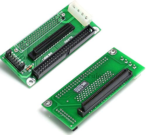 Micro SATA Cables SCA 80 PIN to 68 50 PIN SCSI Adapter
