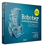 Franzis- Calendario dell'Avvento 24 Giorni per Creare Il Proprio Robot per Bambini dai 12 Anni in su, Multicolore, 67161-5