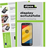 dipos I 2X Schutzfolie matt kompatibel mit Lenovo Moto C Plus Folie Bildschirmschutzfolie