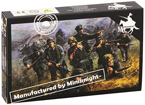 Unbekannt Caesar Miniatures HB07Model Kit WWII German Army (Combat Team Two)