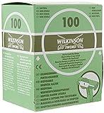 Wilkinson Sword Hospital - 100 Cuchillas de Afeitar Desechables con Caja Dispensadora Aptas para Uso Pre-Operatorio