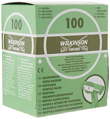Wilkinson Sword Hospital - Caja Dispensadora de 100 Cuchilla