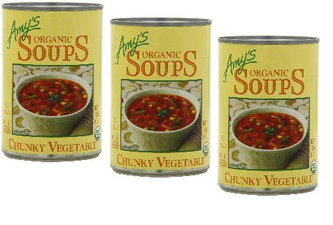 Amys | Gluten Free Soup-chunky Vegetable (Organic) 14.3oz