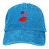 Lsjuee Tokio 2020 Juegos Olímpicos Cotton1 Gorras de béisbol Ajustables Sombreros de Mezclilla Sombr...