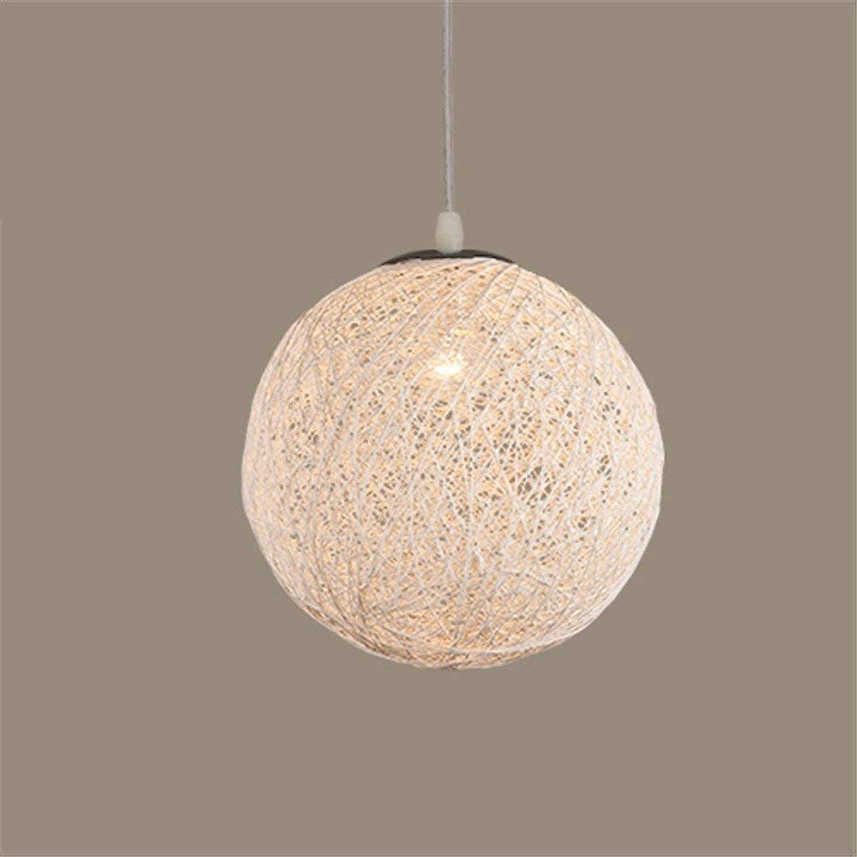 Rattan Art Ball Kreative Verjüngung Balkon Daisy Lampe 30 Cm Weie Decke Pendelleuchte Für Bar Cafe Restaurant Schlafzimmer Wohnzimmer Esszimmer Küche