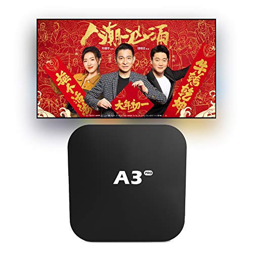 A.3box Pro Chinese TV 盒子 2021海外中文机顶盒 Iptv 硬件全升级 Chinese & Contonese Channel 更新,Massive Movies& TV Series Smart Andriod Box