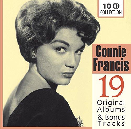 19 Original Albums & Bonus Tracks/Connie Francis