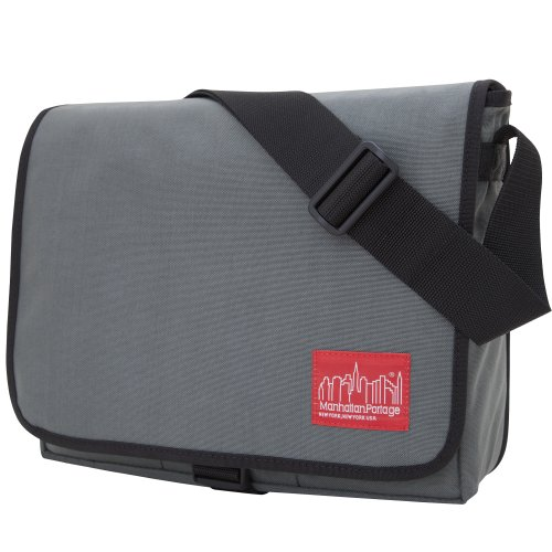 Manhattan Portage 13-Inch Deluxe Computer Bag (Grey)