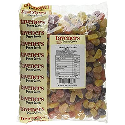 taveners fruit pastilles 3 kg (pack of 1) Taveners Fruit Pastilles 3 Kg (Pack of 1) 51G u7ySa6L
