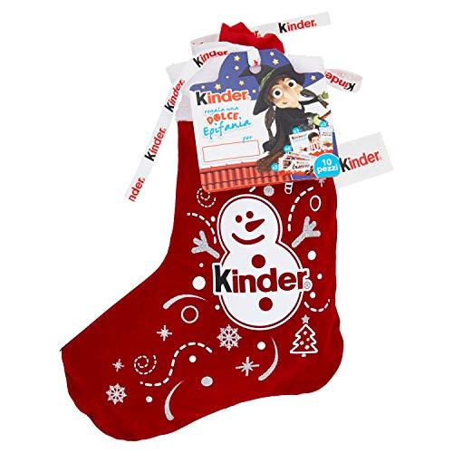 Kinder Happy Snack Calza Befana con 10 Articoli, 290g
