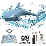 OBEST 多機能ロボットサメ RC サメ サメ おもちゃ 電動おもちゃ 2.4G USB充電 防水設計 遠隔操作 夏対策 プレゼント