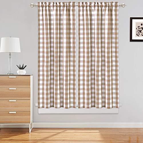 cortinas cocina rustica