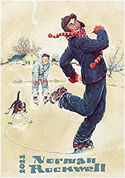 2022 Wall Calendar [12 pages 8 x11 ] Norman Rockwell Best Dad in the World Magazine Cover Art Vintage Poster