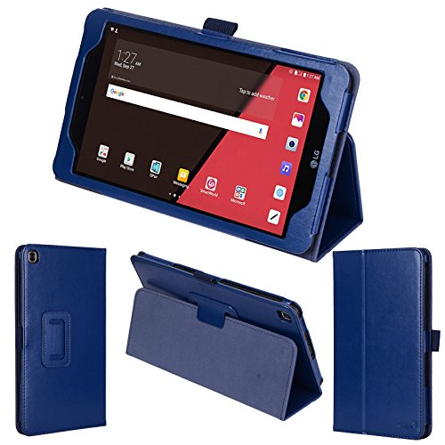 wisers LG G Pad IV 8.0 FHD, T-Mobile G Pad X2 8.0 Plus, Sprint G Pad F2 8.0 8.0' 8.0-inch Tablet Case/Cover, Dark Blue (Navy)