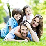 RecontraMago Azulejos Personalizados con Tu Foto - Incluye Pie de Madera - Impresión Baldosas con Tus Frases Imágenes - Decoración del Hogar - Ideal para Regalos Bonitos a Madre Novios Bebe Bodas