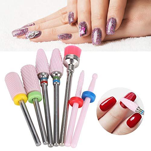 Cabezal de pulido de uñas, brocas de uñas de material de alta calidad, salón salón salón salón belleza manicura tienda para el hogar